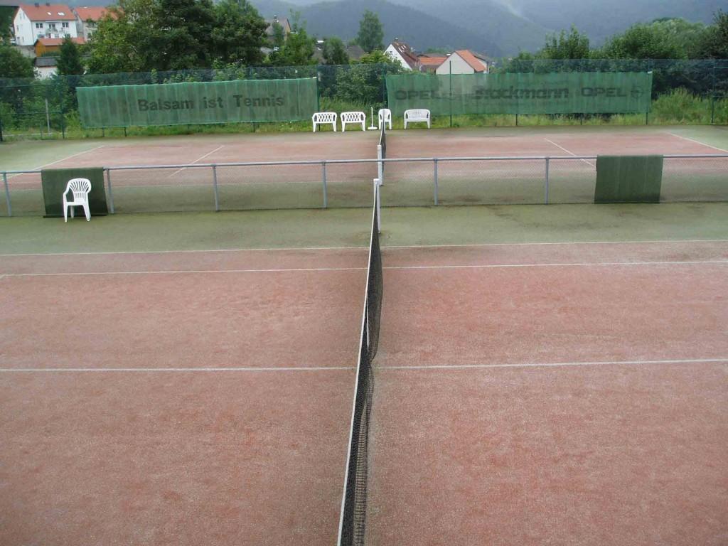 Tennisplaetze-Schiedsrichte